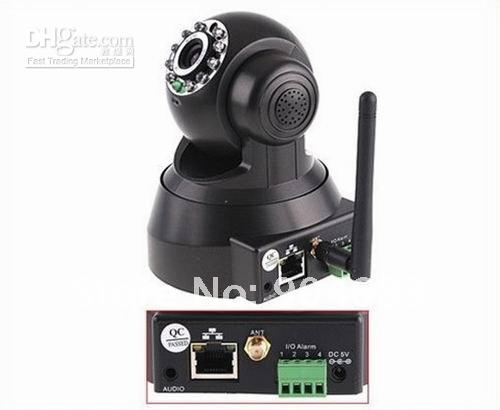 Black_EasyN_WIFI_CCTV_WiFi_Wireless_IP_WLAN_Pan_Tilt_IR_IP_Camera_E734.jpg